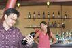 咖啡恋人0030,咖啡恋人,家庭情侣,洋酒 吧台 葡萄酒