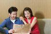 咖啡恋人0037,咖啡恋人,家庭情侣,报纸 刊物 沙发