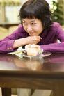 咖啡恋人0047,咖啡恋人,家庭情侣,紫色衣服