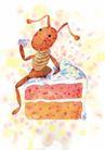 生日礼物0045,生日礼物,标题插画,漫画