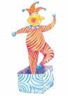 生日礼物0050,生日礼物,标题插画,小丑