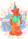 生日礼物0058,生日礼物,标题插画,