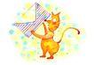 生日礼物0085,生日礼物,标题插画,动物 图案 生日