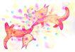 生日礼物0086,生日礼物,标题插画,庆祝 相连 庆祝