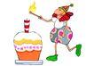生日礼物0088,生日礼物,标题插画,点燃 希望 礼物
