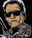 趣味插画0078,趣味插画,标题插画,哭泣 黑道 老大