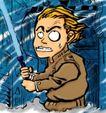 趣味插画0079,趣味插画,标题插画,日本 皇军 军刀