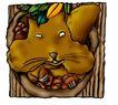趣味插画0099,趣味插画,标题插画,卡通 图画 松鼠