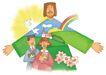 圣教0147,圣教,标题插画,彩虹
