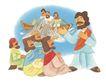 圣教0156,圣教,标题插画,传教士 小船
