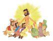 圣教0159,圣教,标题插画,基督教徒