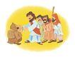 圣教0164,圣教,标题插画,几个圣教教徒