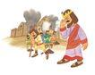 圣教0165,圣教,标题插画,皇冠