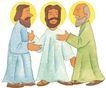 圣教0170,圣教,标题插画,长袍