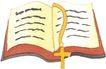 圣教0179,圣教,标题插画,圣洁圣教 圣经 十字架