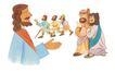 圣教0184,圣教,标题插画,传教士