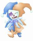 卡哇伊喷画素材0093,卡哇伊喷画素材,标题插画,小丑 喷画 素材