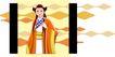 亚洲时尚0015,亚洲时尚,标题插画,才女 佳人 风姿