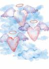 浪漫情人0067,浪漫情人,标题插画,翅膀 光环 天使