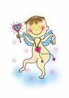 浪漫情人0080,浪漫情人,标题插画,婴儿 爱情 结晶