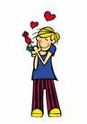 浪漫情人0089,浪漫情人,标题插画,甜蜜 插图 图画