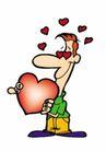 浪漫情人0095,浪漫情人,标题插画,男人 爱情 幸福