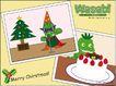 几米0024,几米,标题插画,圣诞树 蛋糕 祝福