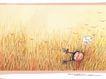 几米0030,几米,标题插画,田野 飞鸟 放飞心情