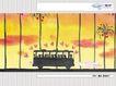 几米0049,几米,标题插画,公车