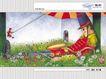 几米0068,几米,标题插画,乐团 军士 草坪