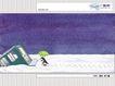 几米0070,几米,标题插画,企鹅 雪景 雨伞