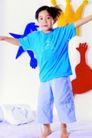 时尚儿童0080,时尚儿童,亲子教育,张开 双臂 拥抱