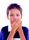 时尚儿童0094,时尚儿童,亲子教育,捂嘴 表情 沉默