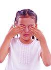 时尚儿童0098,时尚儿童,亲子教育,捂眼睛 思考 服装