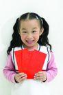 儿童肢体0063,儿童肢体,亲子教育,孩子 请帖 红纸