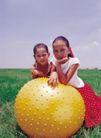 儿童表情0097,儿童表情,亲子教育,皮球 玩乐 自然