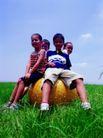 儿童表情0105,儿童表情,亲子教育,在草地上 晴天 好友