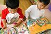 学前教育0056,学前教育,亲子教育,童年 幼稚园 一起看书