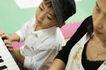 学前教育0064,学前教育,亲子教育,男孩 钢琴 学习