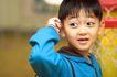 欢乐童颜0053,欢乐童颜,亲子教育,蓝衣服 大眼睛 抓耳朵