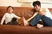 亲子关系0042,亲子关系,亲子教育,大脚和小脚