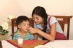 亲子关系0046,亲子关系,亲子教育,吃早餐