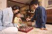 亲子关系0055,亲子关系,亲子教育,教育 亲子教育 一起下棋