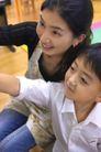 亲子关系0069,亲子关系,亲子教育,笑容 母亲 儿子