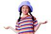 天真儿童0113,天真儿童,亲子教育,帽子 条纹衣