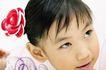 儿童造型0073,儿童造型,亲子教育,头插 小花 紫唇