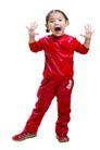 儿童广告0158,儿童广告,亲子教育,红色套装