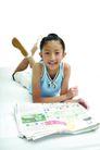 儿童广告0159,儿童广告,亲子教育,看报