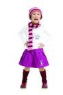 儿童广告0165,儿童广告,亲子教育,紫色裙子 戴着帽子