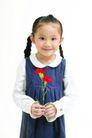 儿童广告0182,儿童广告,亲子教育,红花 女童
